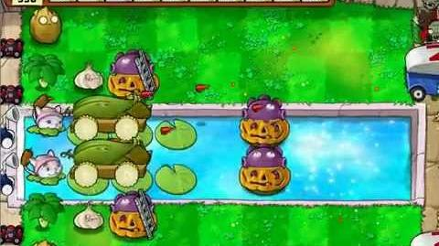 Plants vs Zombies - Survival Pool Hard - No Sunflower
