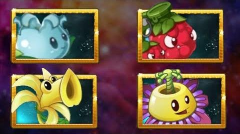 PvZ 2 - New plants! Vanilla, Mulberry, Passinflower and more! Chinese version