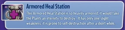 Armored Heal StaTION