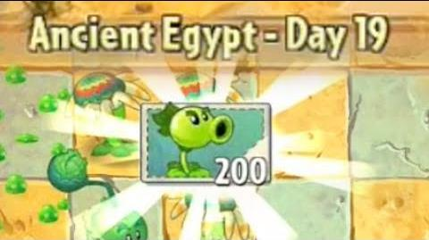 Ancient Egypt Day 19 - Plants vs Zombies 2 Its About Time
