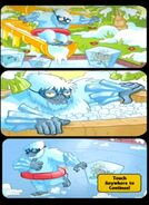 Ice Zombie Cometh middle comic strip
