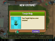 Obtain TK costume