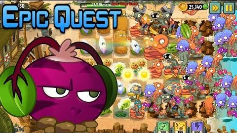 Plants vs. Zombies 2 Beghouled Blitz - Epic Quest (Ep