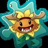 Primal Sunflower Costume Puzzle Piece