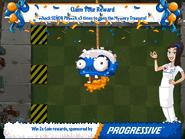 Progressive Zombie Piñata Undamaged