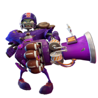 Purple pulverizer