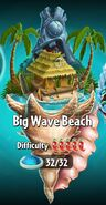 Big Wave Beach with Difficulty