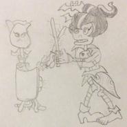 Rose vs. Immorticia