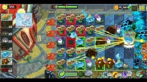 Terror From Tomorrow Level 91 92 Bloomerang Boost Power Tiles Plants vs Zombies 2 Endless GamePlay