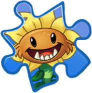 Primal Sunflower Rare Puzzle Piece