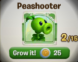 Peashooter (Plants vs. Zombies Adventures) | Plants vs ...