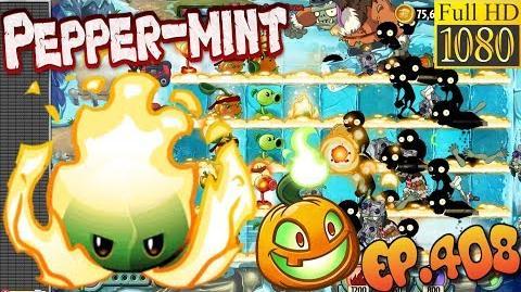 Plants vs. Zombies 2 - PEPPER-MINT - Quest, Max level Quest (Ep