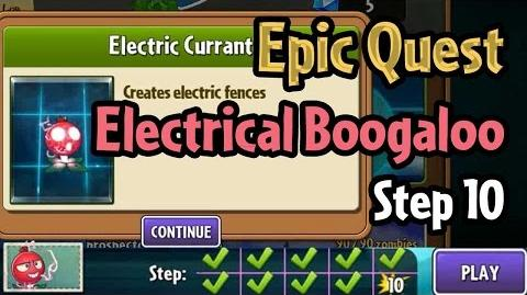 Plants vs Zombies 2 - Epic Quest Electrical Boogaloo - Step 10 Unlock Electric Currant-1