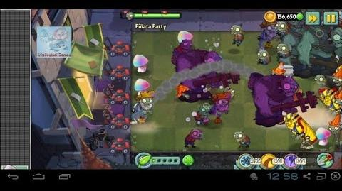 Dark Ages is Coming - Pinata 21-06-14 Hypno Shroom Plants vs Zombies 2