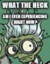 Meme Scientist comic face