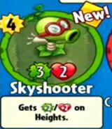 Receiving Skyshooter