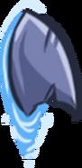 Shark projectile fin