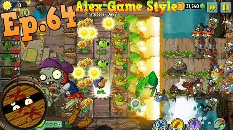Plants vs. Zombies 2 New Barrel Roller Zombie Pirate Seas Day 7 (Ep.64)