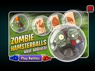 Zombie Hamster Balls Have Arrived