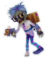 Transparent Computer Scientist Stickerbook Image