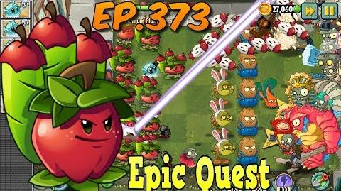 Plants vs. Zombies 2 - APPLE MORTAR - Epic Quest Premium Seeds (Ep