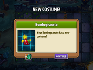 Getting Bombegranate Second Costume