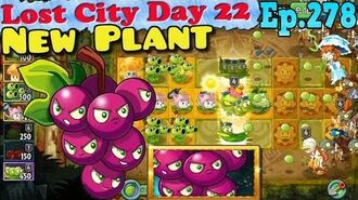 Plants vs. Zombies 2 (China) - New Plant Grapeshot - Lost City Day 22 (Ep.278)