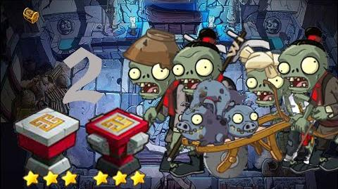 PvZ Online - Adventure Mode - Mausoleum Advent 2