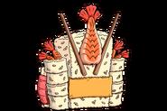 Tombstone HeadstoneTile RARE Sushi