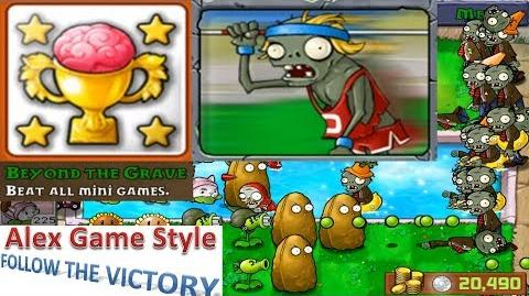 Plants vs. Zombies - Achievement - Beyong The Grave Zombie Nimble Zombie Quick (HD) Ep