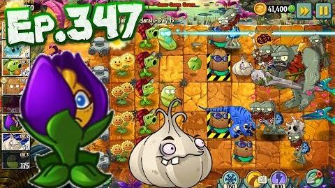 Plants vs. Zombies 2 Survive and protect plants - Jurassic Marsh Day 15 (Ep