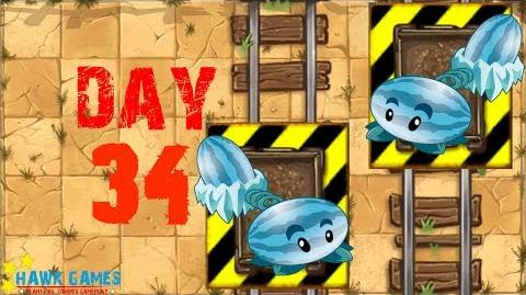 Plants vs Zombies 2 - Wild West - Day 34