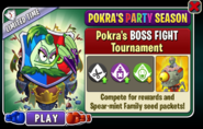 Pokra boss tourney ad