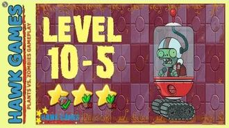 V1.0.81 Plants vs. Zombies All Stars - Far Future Level 10-5 BOSS Shield Zombie