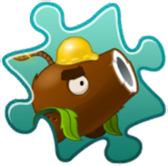 Coconut Cannon Costume Puzzle Piece