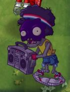 Poisoned Boombox Zombie