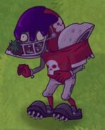 Poisoned Football Zombie