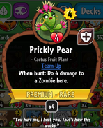 Prickly pear stats