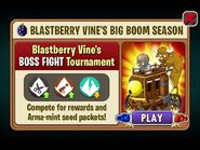 Blastberry Vine's BOSS FIGHT Tournament