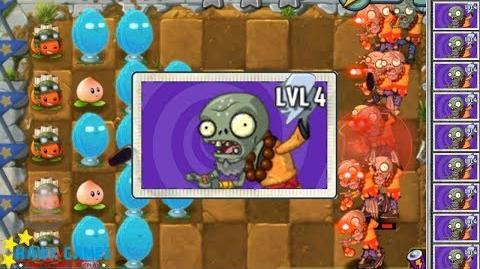 I, Zombie Plants vs Zombies - Drinking Monk Zombie vs Plants 9