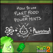 Plant Food with Power Mints