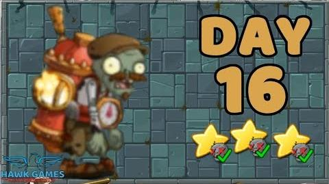 Plants vs Zombies 2 China - Steam Ages Day 16
