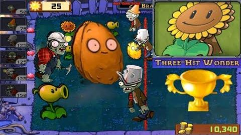 Plants vs. Zombies - Puzzle I, Zombie Three-Hit Wonder (Android HD) Ep