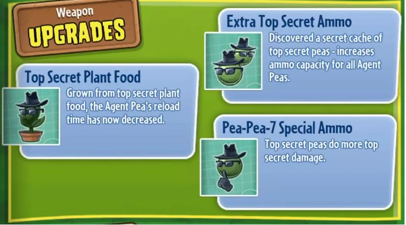 Agent Pea Plants Vs Zombies Wiki Fandom Ed By Wikia