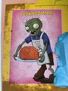 Cooking zombie full body