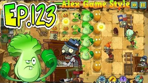 Plants vs. Zombies 2 Big Bad Butte level 1 (Ep