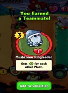Receiving Mushroom Ringleader