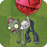 Zombi con globo 2