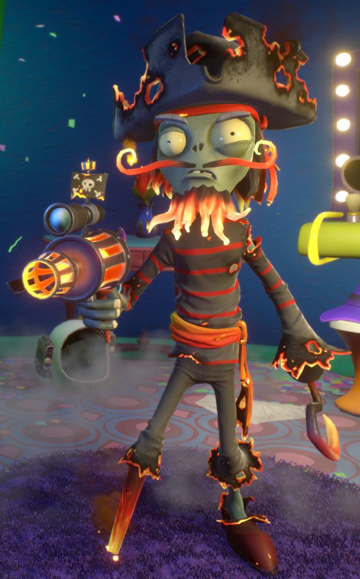 captain flameface plants vs zombies wiki fandom