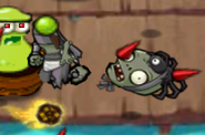 Defeated Spider Devil Zombie